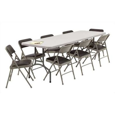National Public Seating 8' Rectangular Folding Table