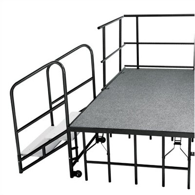 National Public Seating Stage Pie Package in Hardboard