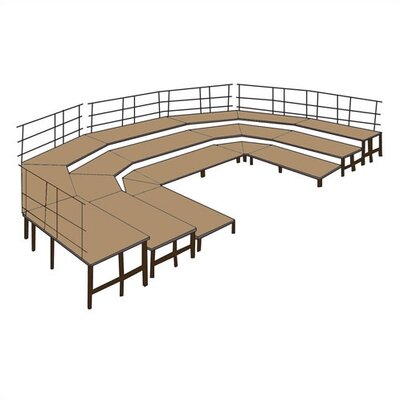 National Public Seating Ring Set-Up Configuration Package in Carpet