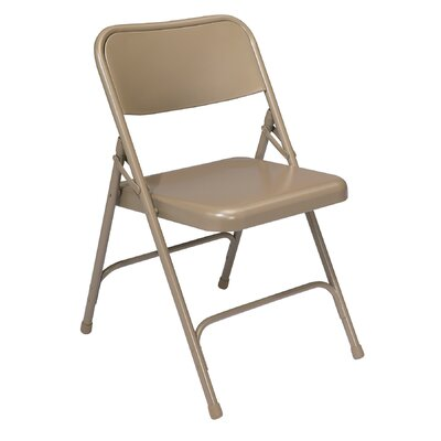 National Public Seating 200 Series Industrial Folding Chair (Set of 4)