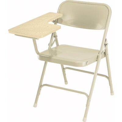 National Public Seating 5200 Series Steel Folding Chair with Tablet Arm