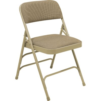 National Public Seating 2300 Series Triple Strength Upholstered Folding Chair