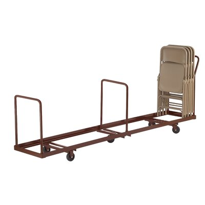 National Public Seating Folding Caddy Chair Dolly