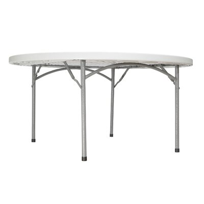 "National Public Seating 60"" Round Folding Table"
