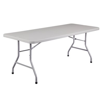 "National Public Seating Blow Molded 72"" Rectangular Folding Table"