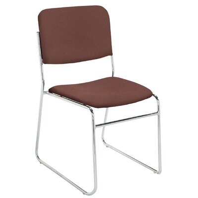 National Public Seating Signature Lightweight Fabric Padded Stack Chair