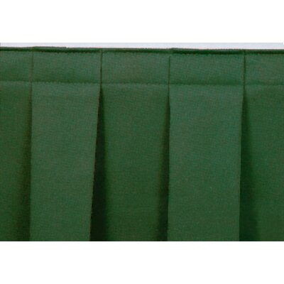 National Public Seating Boxed-Pleat Stage Skirting
