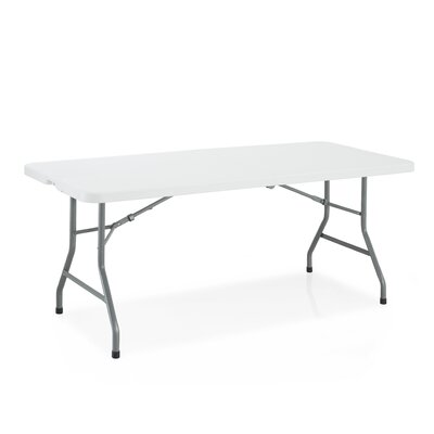 National Public Seating Fold 'N' Half Blow Molded Folding Table