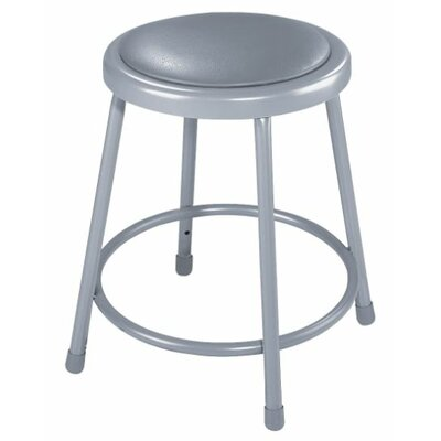 National Public Seating Height Adjustable Stool with Footring