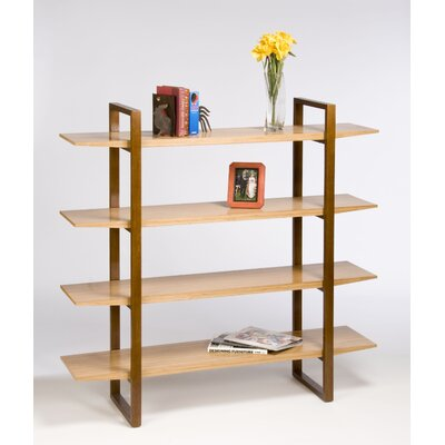 Directions East Breeze Bookcase with Wood Legs