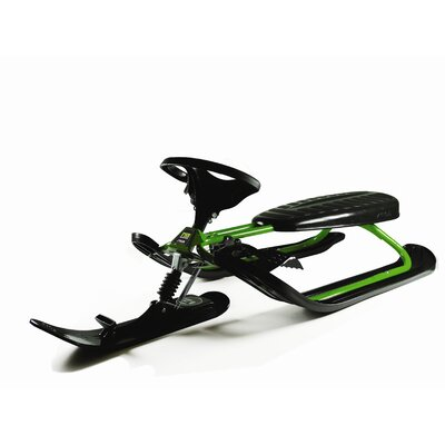 Stiga Curve FSR Snow Sled in Green