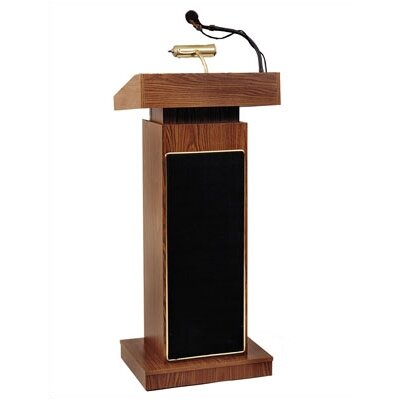 Oklahoma Sound Corporation The Orator Height Adjusting Lectern