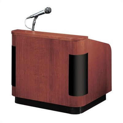 Oklahoma Sound Corporation Veneer Table Top Lectern with Sound