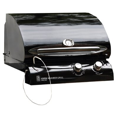 "The Outdoor GreatRoom Company 24"" Cook Number Black Porcelain Gas Grill Head"