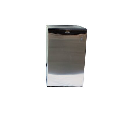 Darby Glass Shelf Stainless Steel Refrigerator
