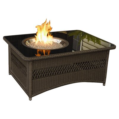 The Outdoor Greatroom Company Naples Coffee Table With Fire Pit Reviews Wayfair