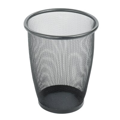 Safco Products Company Onyx 5-Gal. Round Mesh Wastebasket