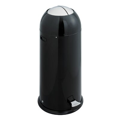 Safco Products Company 14-Gal. Shutter Trash Can