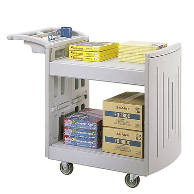 "Safco Products Company 37.25"" Utility Cart"