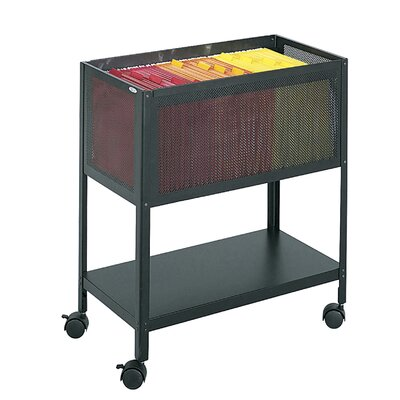 "Safco Products Company 27.5"" Steel Mesh Open Top Tub File"