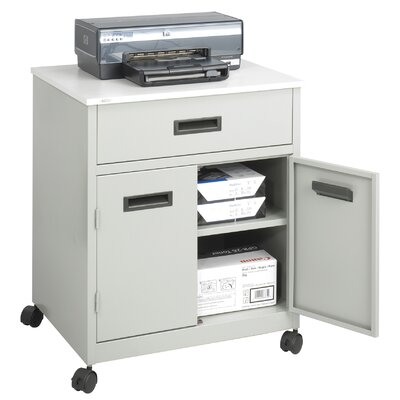 Safco Products Company Machine Stand with Pullout Drawer