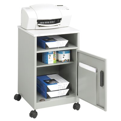 Safco Products Company Machine Stand with Compartment