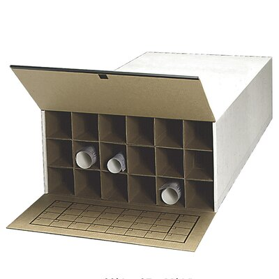 Safco Products Company Tube-Stor Filing Box