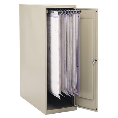 Safco Products Company Vertical Filing Cabinet