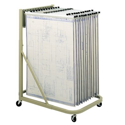 Safco Products Company Mobile Stand Filling Cart