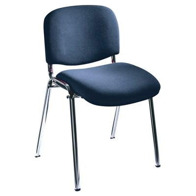 Safco Products Company Visit Upholstered Stacking Chair (Set of 2)