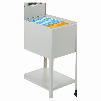 "Safco Products Company 30"" Safco Standard Locking Mobile Tub File"