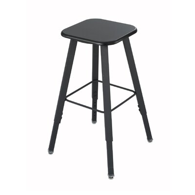 Safco Products Company Height Adjustable Stool with Footrest