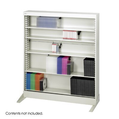 Safco Products Company Multimedia Storage Rack