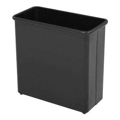 Safco Products Company 6.88-Gal. Rectangular Wastebasket