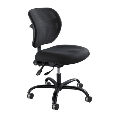 Safco Products Company Mid-Back Vue Mesh Big And Tall Office Chair