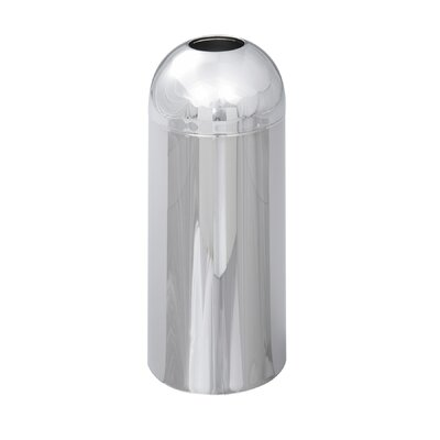 Safco Products Company Reflections Open-Top Dome Round Receptacle