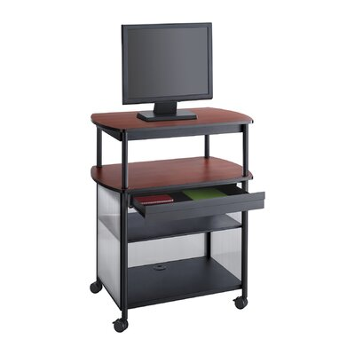 Impromptu Av Cart with Storage Drawer, 3-Shelf, 36.5