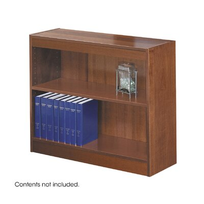 "Safco Products Company 30"" H Square-Edge Bookcase"