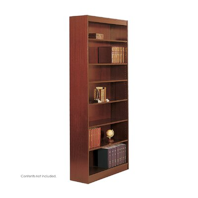 "Safco Products Company 84"" H Square-Edge Bookcase"