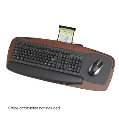 Safco Products Company Premier Series Keyboard Platform with Control Zone