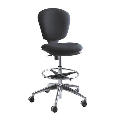 Safco Products Height Adjustable Drafting Chair with Swivel
