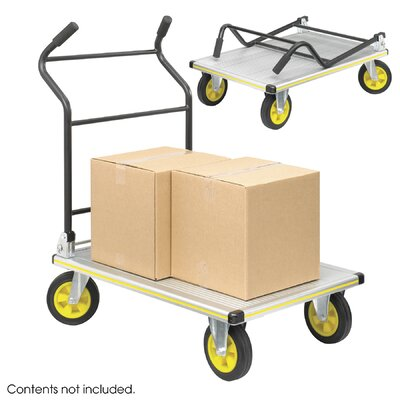 Safco Products Company Stow-Away Platform Truck