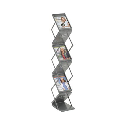 Safco Products Company 6 Pocket Folding Display