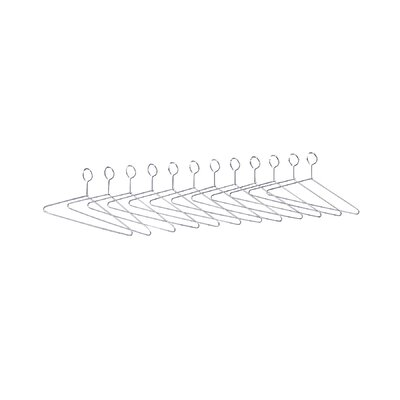 Safco Products Company 12 Non-Removable Coat Hangers