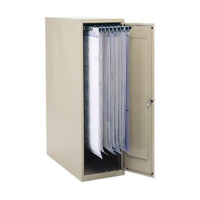 Safco Products Company Enclosed Vertical File Cabinet