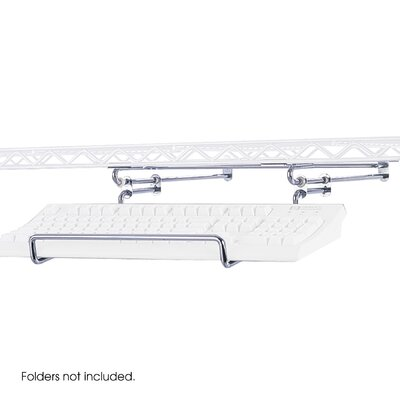 Safco Products Company Keyboard Holder for  Wire LAN Management System
