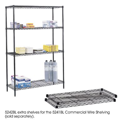 "Safco Products Company Extra Shelf Pack, 48 x 18"" for Commercial Rack"
