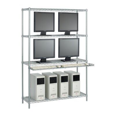 "Safco Products Company 48"" Wide Wire LAN Management System with Accessories"