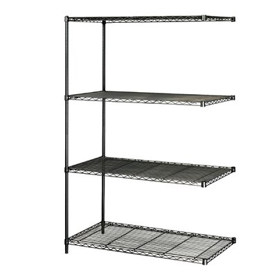 "Safco Products Company Industrial Wire Add-On Unit (48"" x 24"" Shelves)"