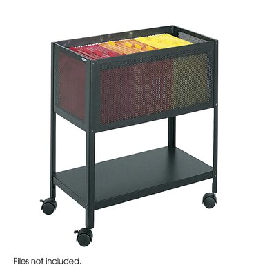 Safco Products Company Steel Mesh Open Top Tub File